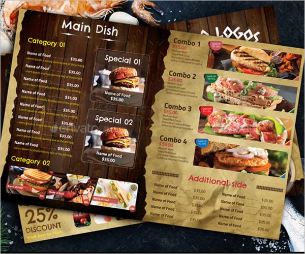 63 restaurant menu designs free psd pdf vector templates