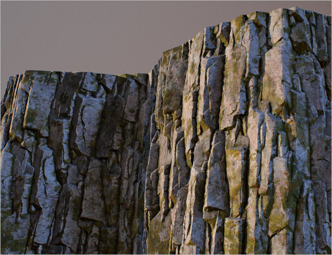 Rock 3D Texture Design