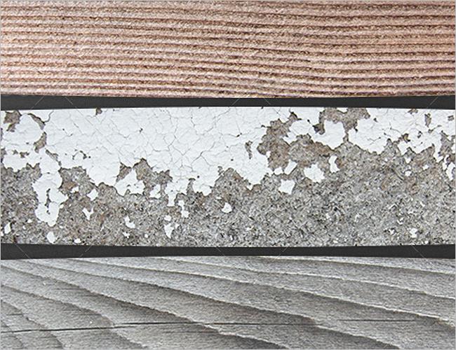 Rustic Peeled Wood Texture Design