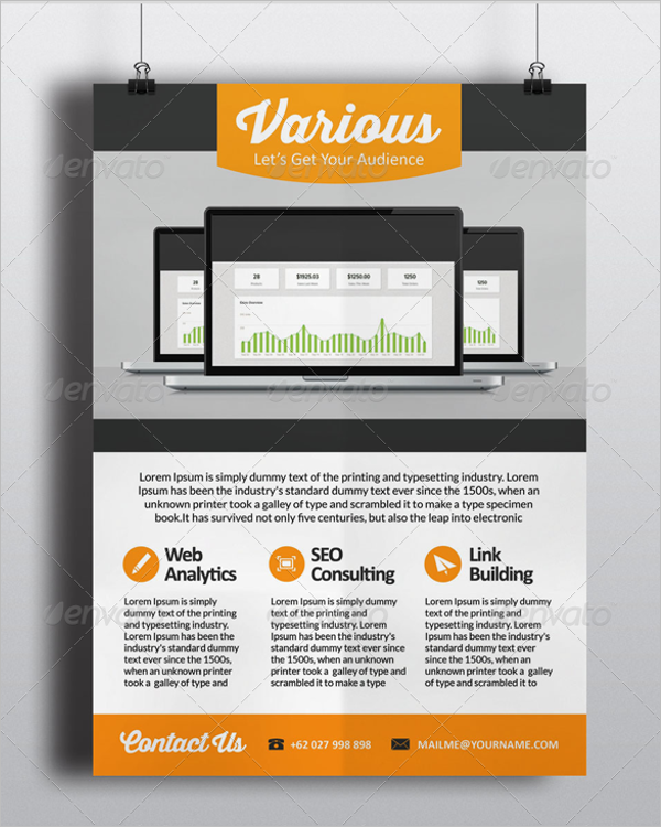 SEO Consultancy Flyer Template