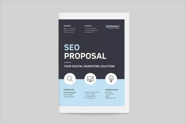 SEO Proposal Flyer Template