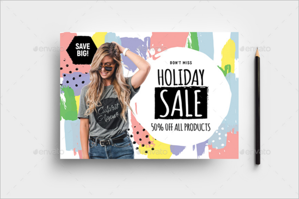 Sale A5 Flyer Template