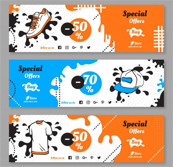 Sale Banner Design Collection