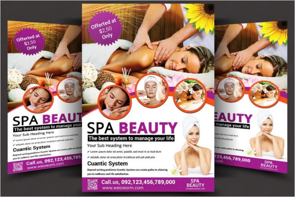 Salon Beauty Flyer Template