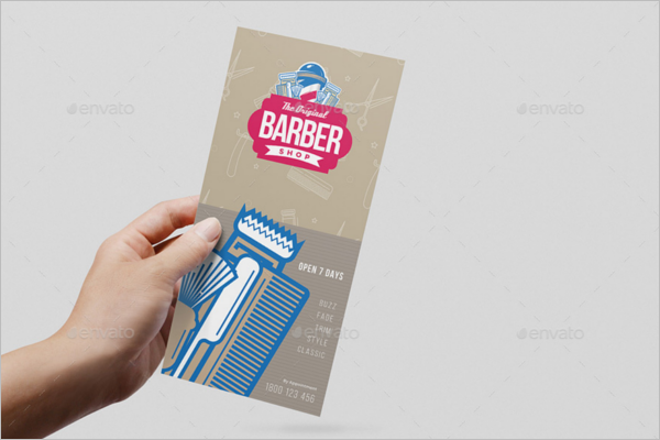 Salon Rack Card Template