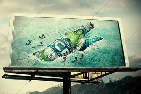Sample Billboard Mockup Design