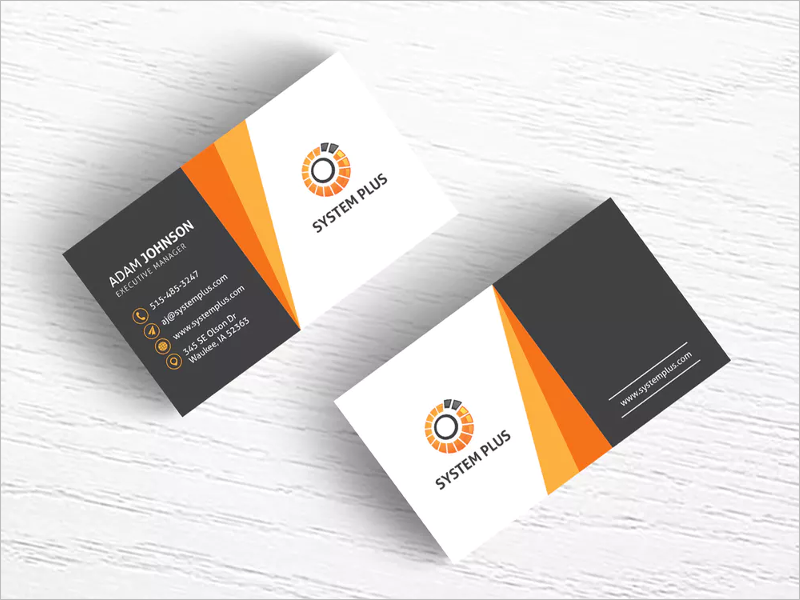Sample Business Card Design