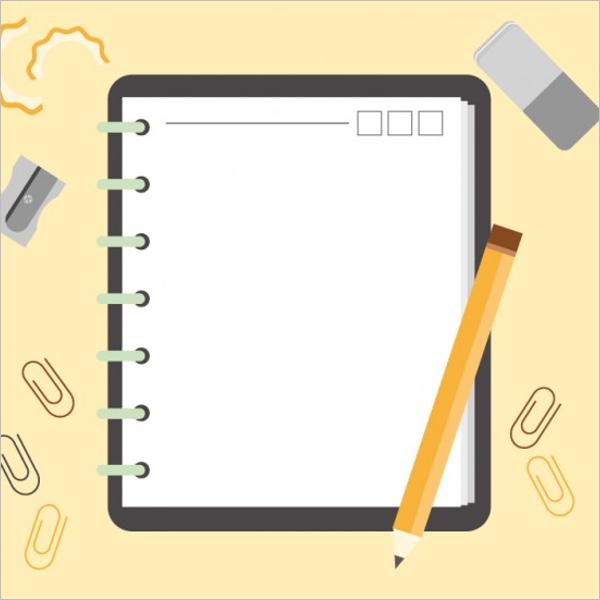 Sample NotebookDesign Template
