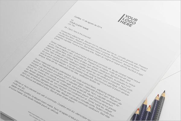 Sample Paper Mockup Design