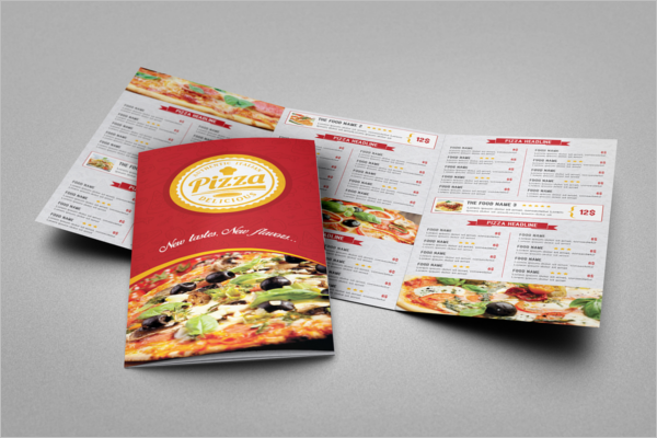TriFold Menu Templates Free Word PSD Designs - Folded menu template
