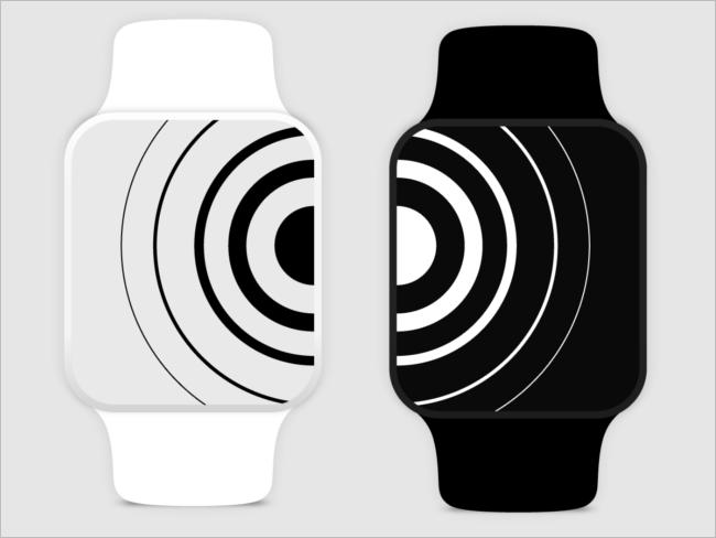 Sample Watch Mockup Design PSD