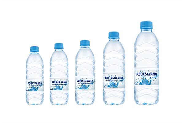 Sample Water Bottle Mockup Set