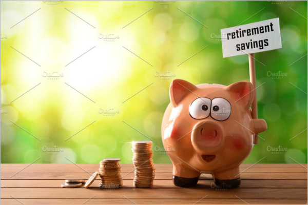 Saving Retirement Banner Design