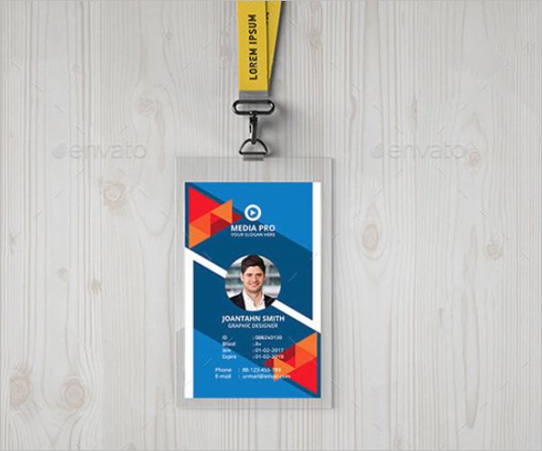 School ID Card Template