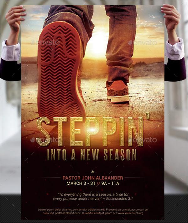 Season Church Event Flyer Template