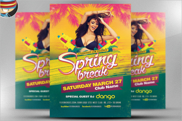 Season Event Flyer Template Free Download