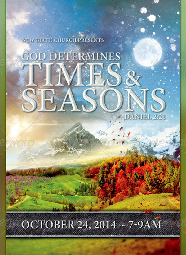 Season Event Photoshop Flyer Template