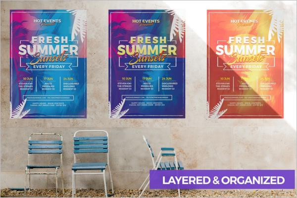 Seasonal Event Flyer Design