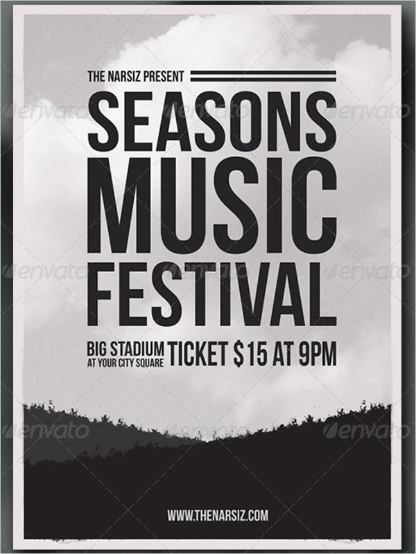 Seasonal Event Flyer Template