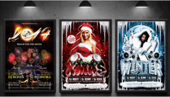 Seasonal Event Flyer Templates