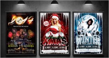 Seasonal Event Flyer Templates