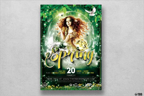Seasonal Spring Flyer Template
