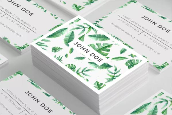 Set Of Business Card Design PSD
