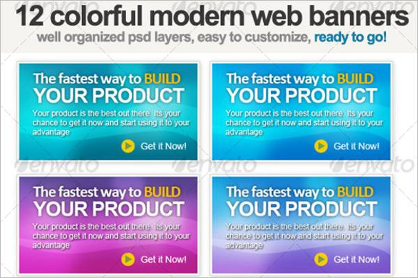 Set Of Microsoft Banner Template
