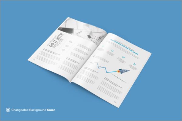 Simple A4 Brochure Template