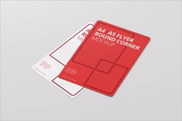 Simple A5 Flyer Template
