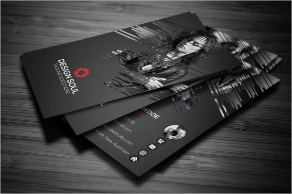 Simple Beauty Business Card Template