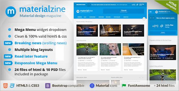 Simple Blog Design Template