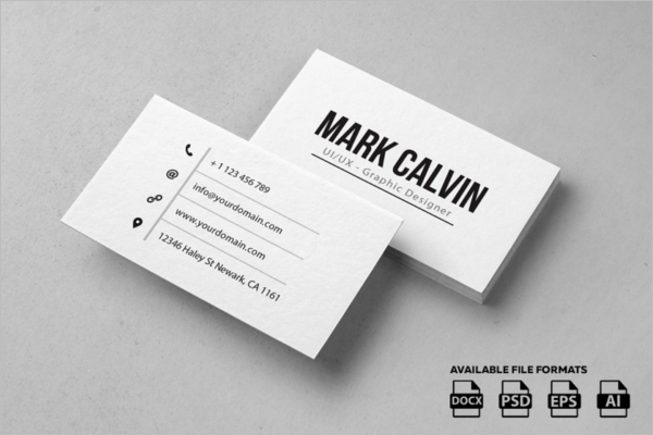 SimpleBusiness Card Template