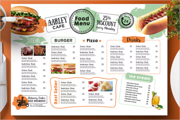 62+ Cafe Menu Templates Free PSD, Word Designs | Creative Template