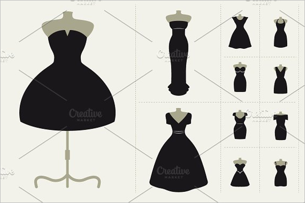 Simple Dress Design Template