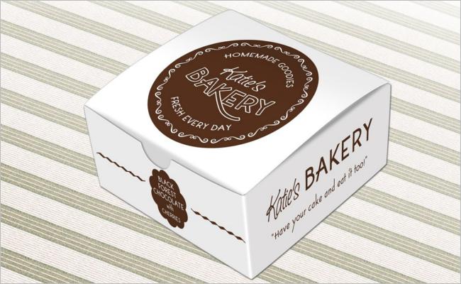Simple Food Box Mockup Design