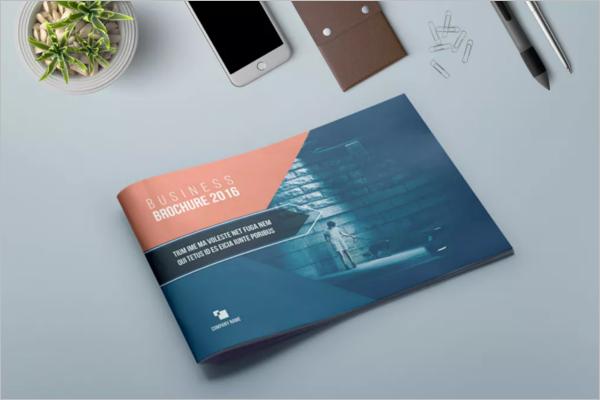 SimpleLandscape Brochure Template