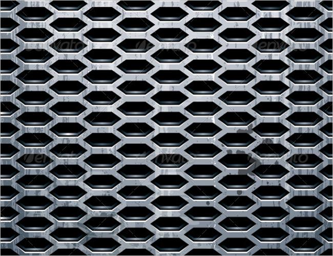 Simple Metal Wall Texture Design