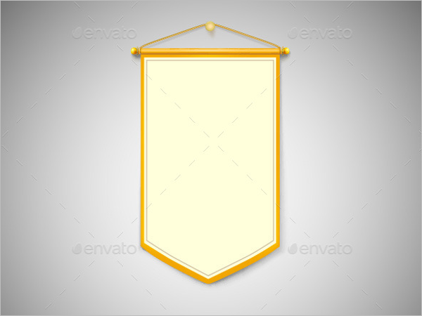 Simple Pennant Banner Template