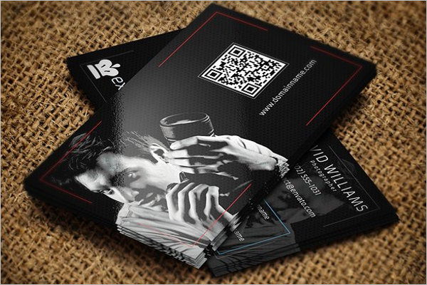 Simple Photography Business Card Design