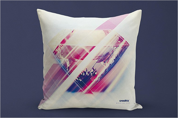 Simple Pillow Mockup Template