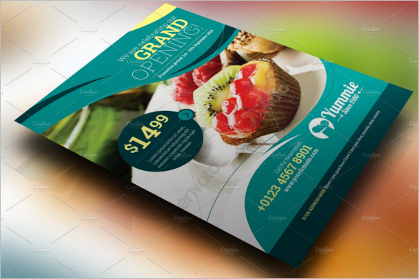 Simple Restaurant Flyer Template