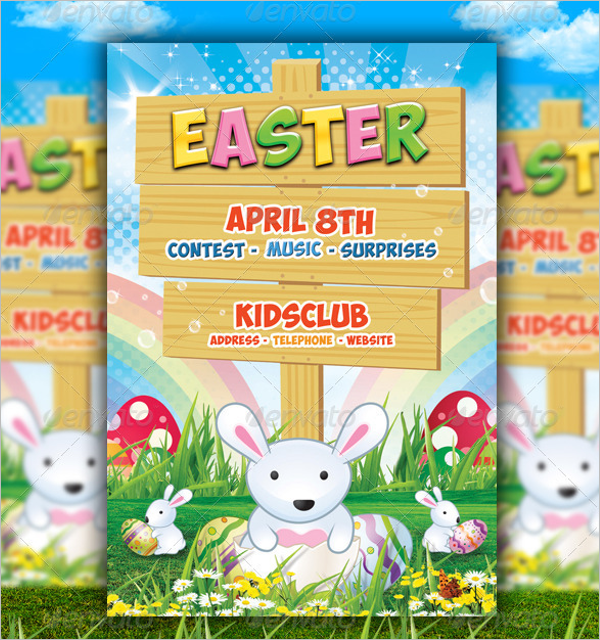Simple Spring Flyer Template