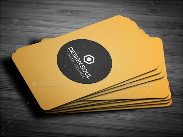 Simple & Stylish Business Card Design