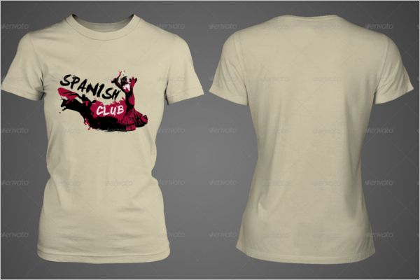 Simple T-Shirt Mockup Design