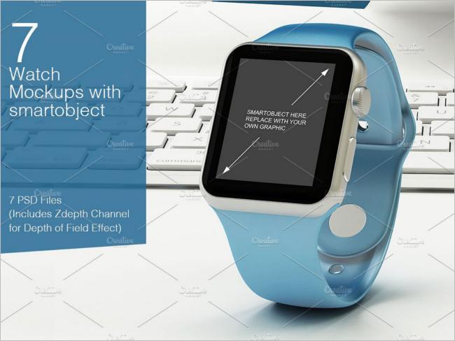 Simple Watch Mockup Design