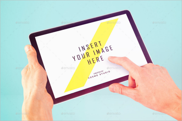 Simple ipad Mockup Design
