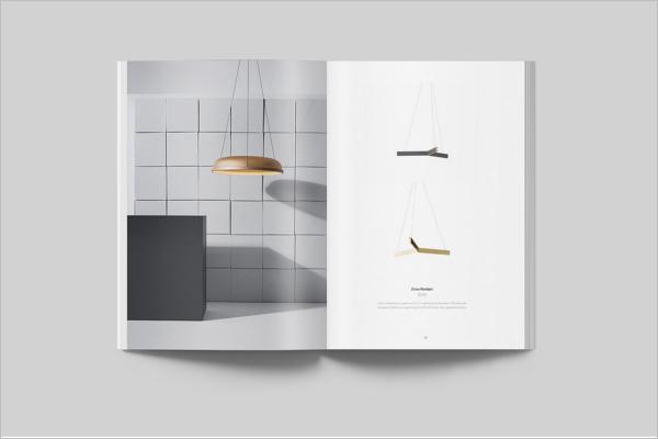 SimpleCatalog Magazine Mockup Design
