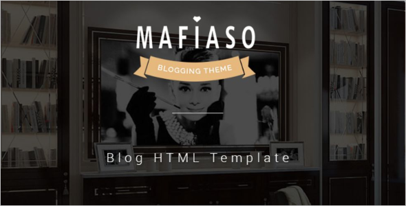 Single Page Blogger Template