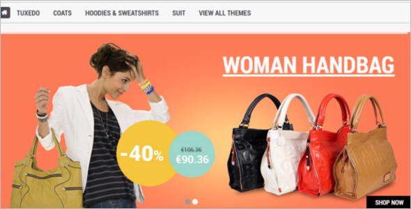 Single Page Prestashop Theme